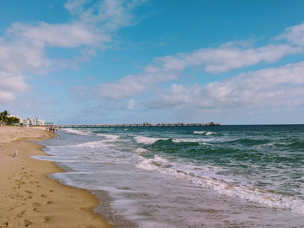 Sun. Sand. Sky. Water.