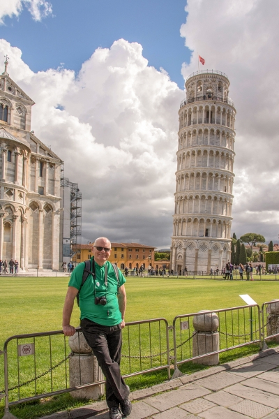 Rick at Pisa