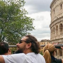 Selfies at the Colliseum