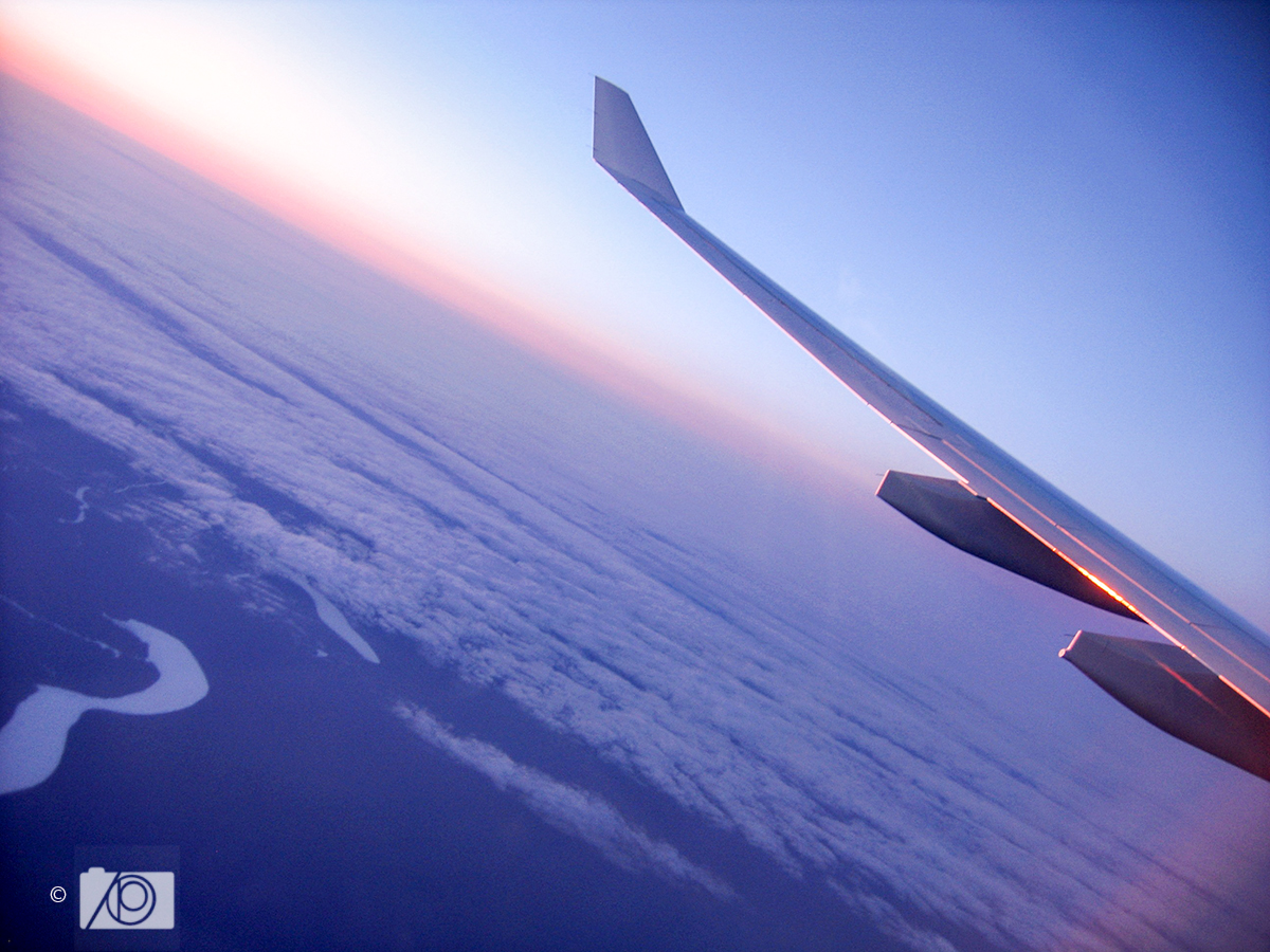 Flying Above the Clouds